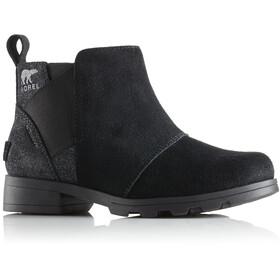 Sorel Youth Emelie Chelsea Boots Black/Black